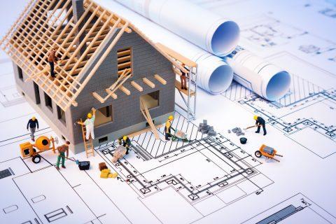 architectes plan de construction