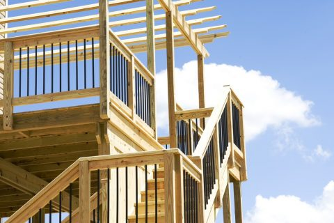 matériaux escalier